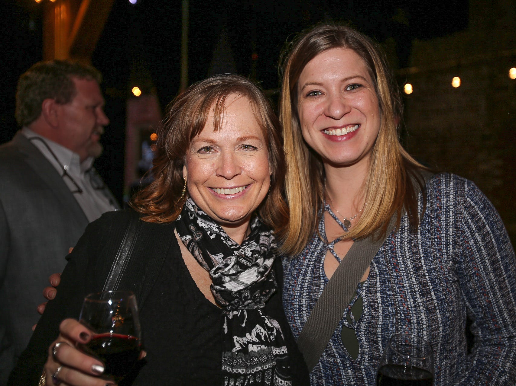 Sheila McGowne and Celine Roberts