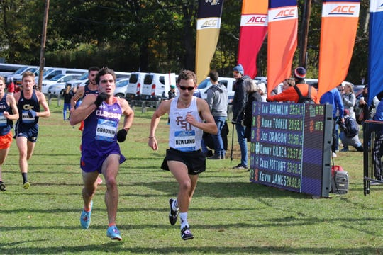 FSU runner and former Chiles High star Matthew Newland, right.