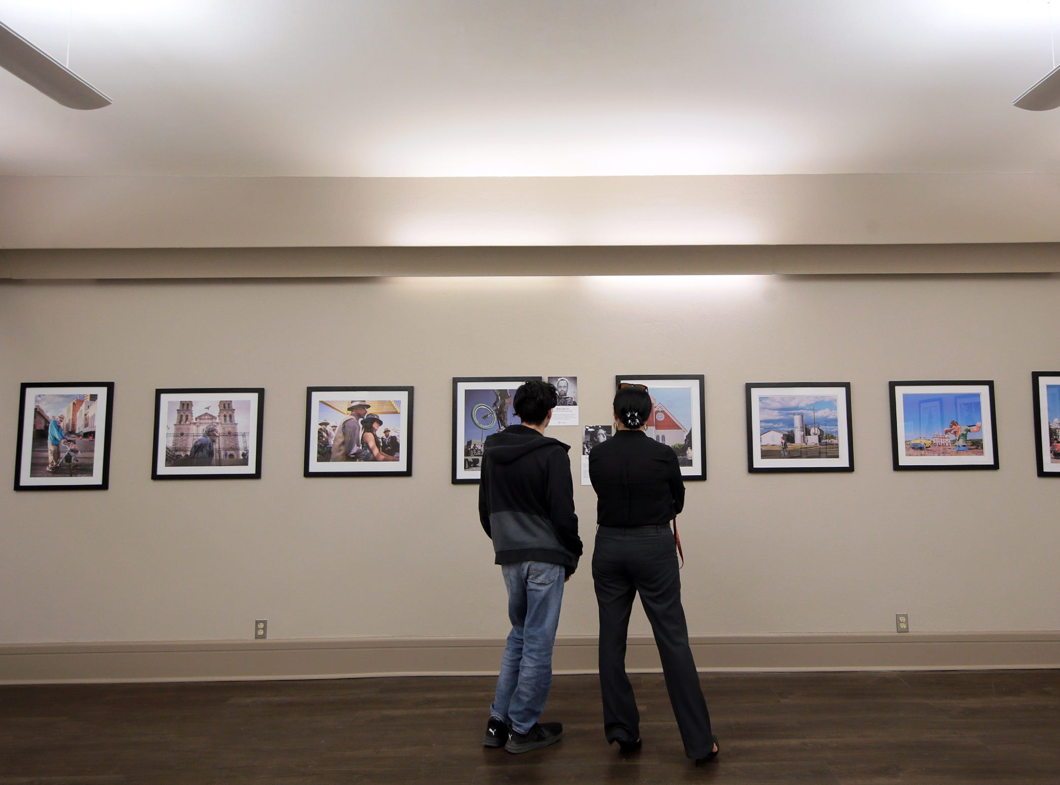 """Rebirth Of Duranguito and Border Street, A Photo Exhibition"" opened Thursday at UTEP's Centennial Museum."