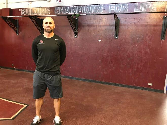 Visalia native Nathan Chamberlain is the new head coach of the Mt. Whitney High football program.