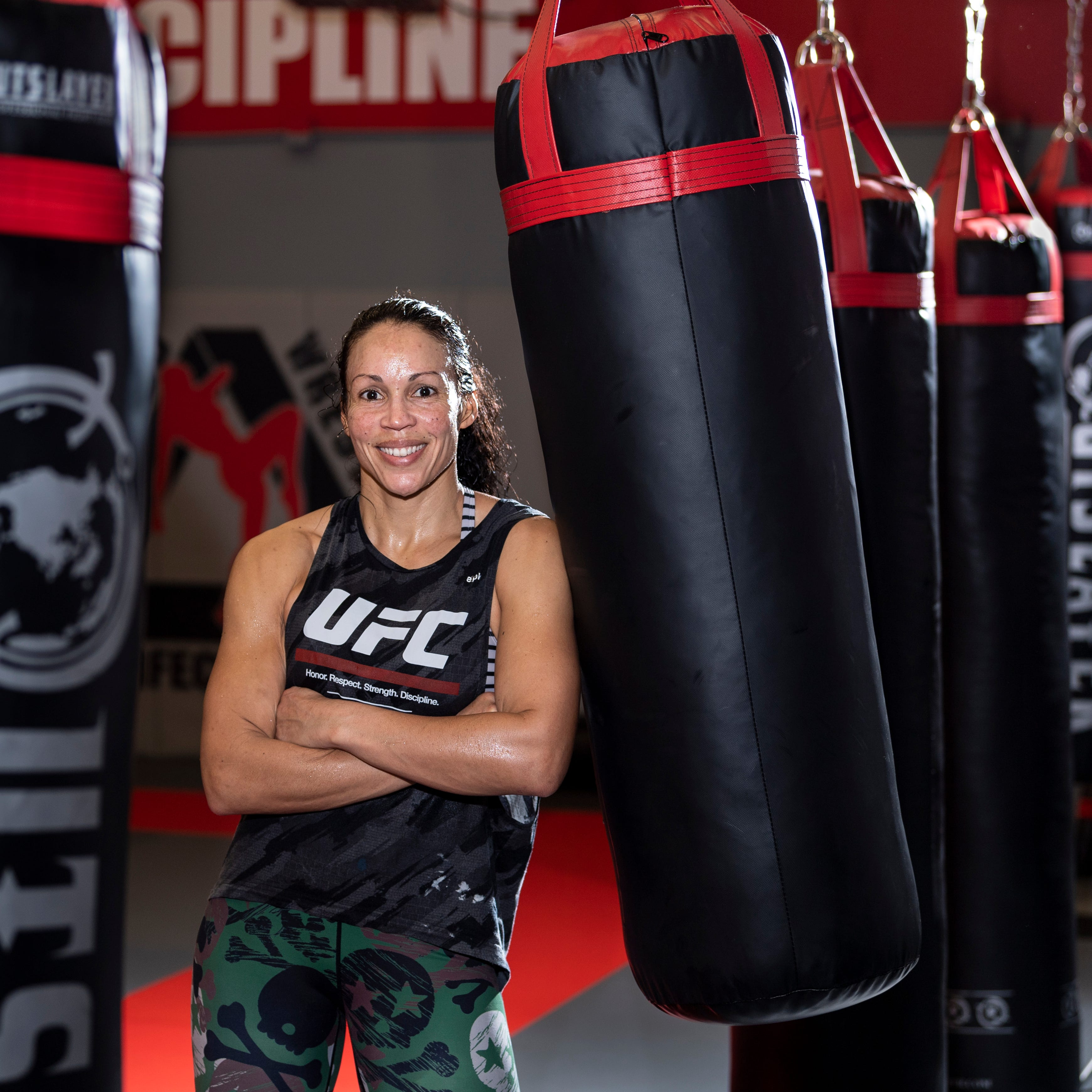How does this mom balance life as a UFC fighter and full-time teacher?