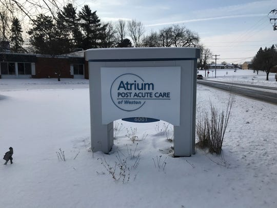 Atrium Post Acute Care of Weston sits across the street from Kennedy Park. The senior living home closed abruptly on Jan. 23, despite a notice from the state compelling them not to close without a relocation plan, as it would be against Wisconsin law.