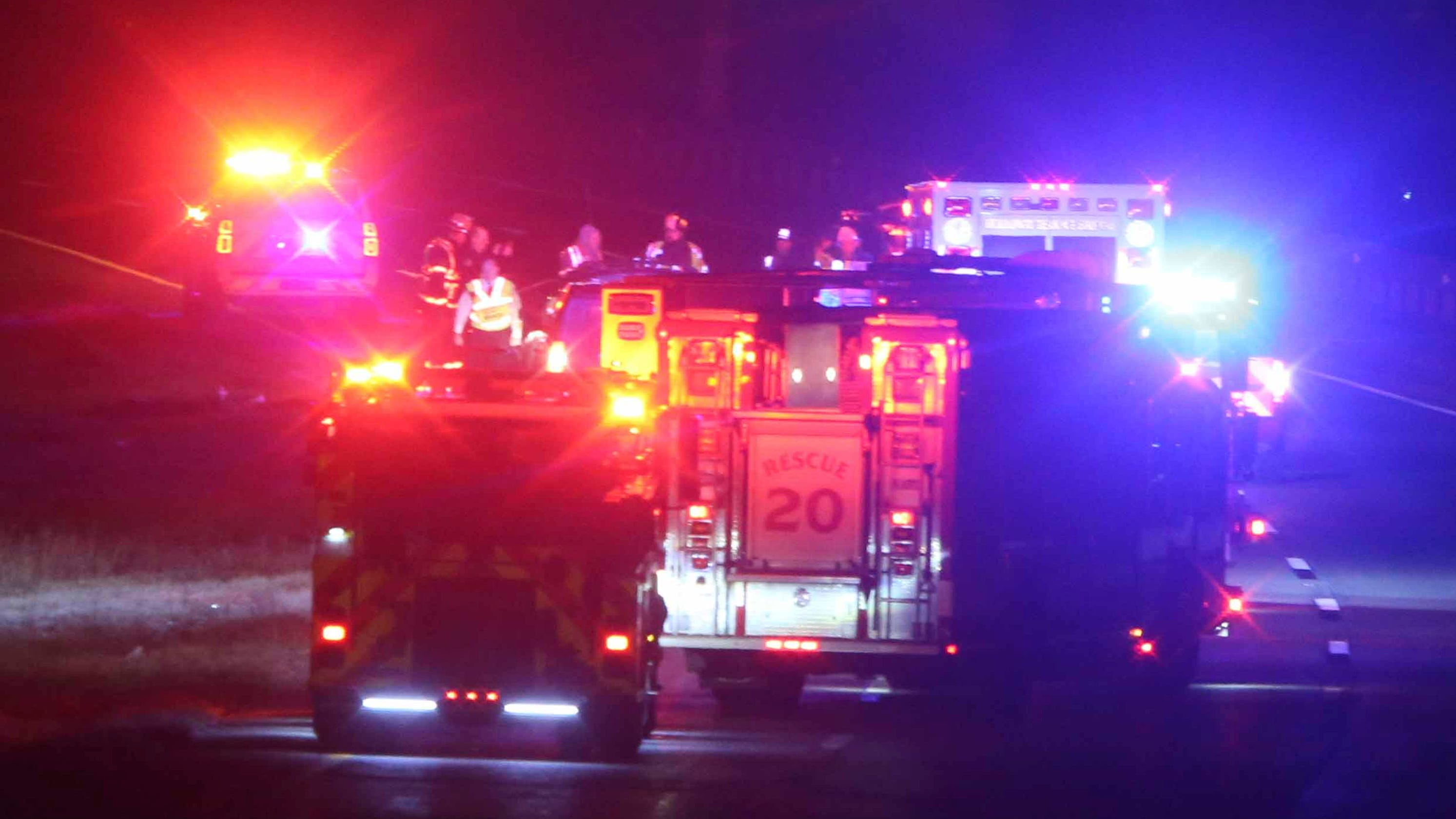 I-495 North reopened after accident involving pedestrian at I-95 split