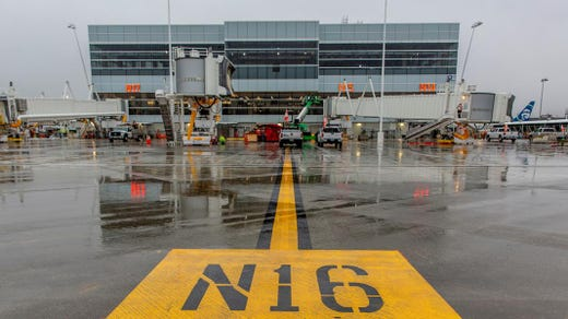 Sea Tac Airport tests its expanded North Satellite Terminal