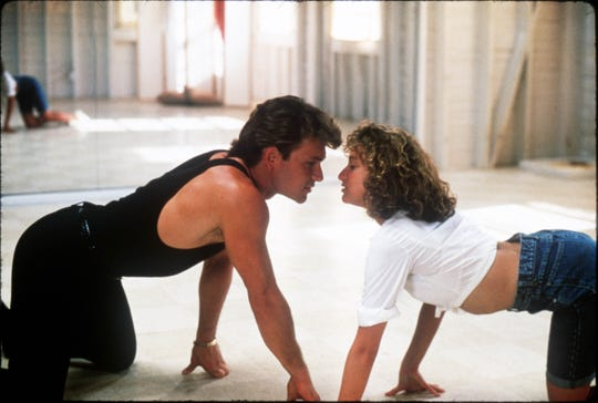 """Patrick Swayze and Jennifer Grey in """"Dirty Dancing."""""""