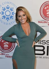 """Adrienne Bailon attends The Compound Foundation Presents The 2nd Annual """"Fostering A Legacy"""" Official After Party Hosted By Ne-YO & Mission BIG on August 17, 2013 in East Hampton, New York."""