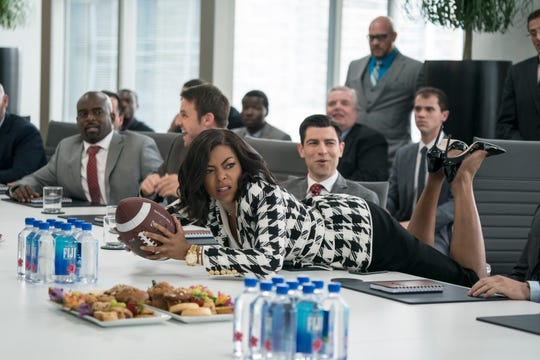 "No matter what she does, Ali (Taraji P. Henson) keeps hitting the glass ceiling in ""What Men Want."""