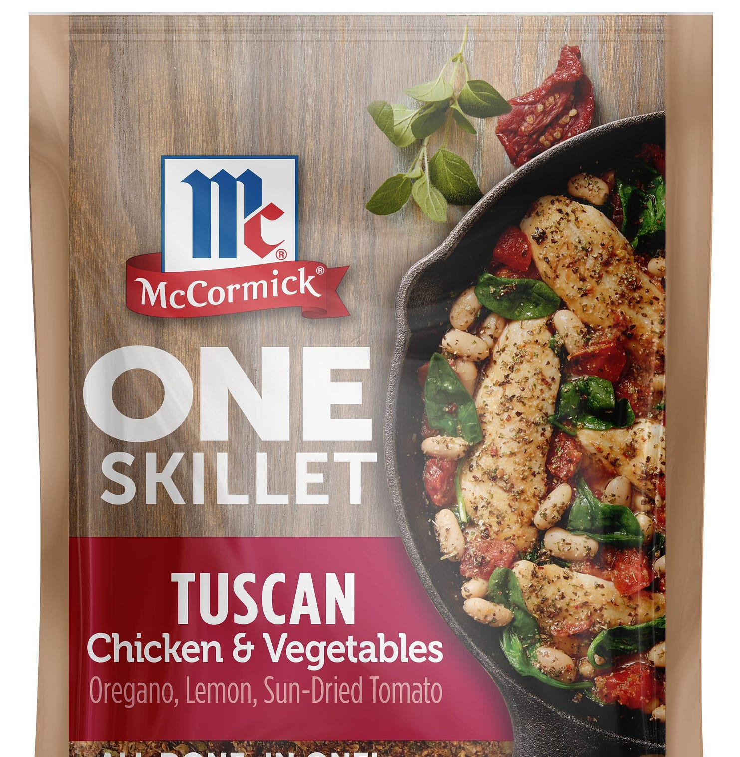 This McCormick meal was produced in part through artificial intelligence.
