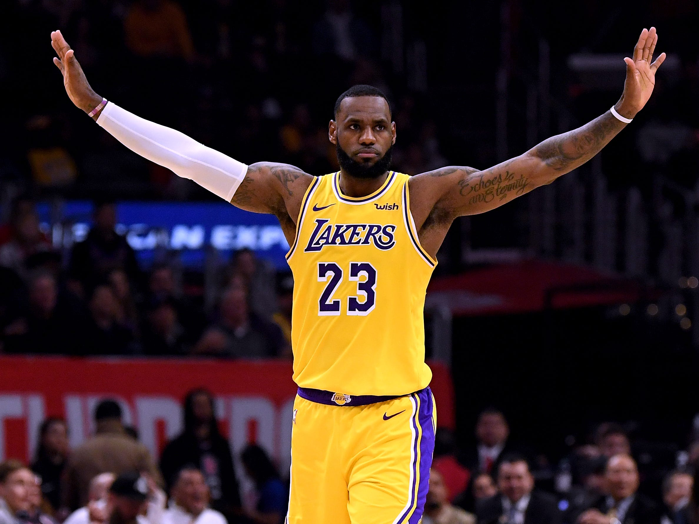 Jan. 31, 2019: James missed 17 games, but after the Lakers stumbled to a 6-11 record without him, he returned at just the right time.