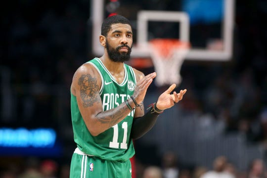 7c582b77be Kyrie Irving backpedals on Celtics commitment: 'Ask me July 1'