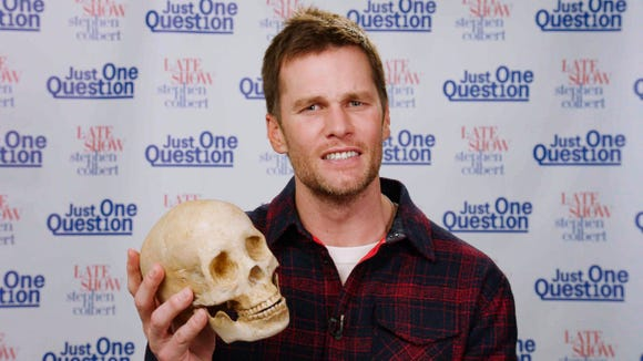 Tom Brady went all in for his Hamlet.