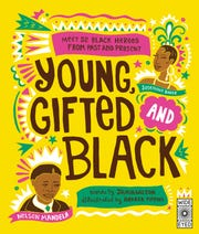 """Young, Gifted and Black,"" by Jamia Wilson and illustrated by Andrea Pippins"