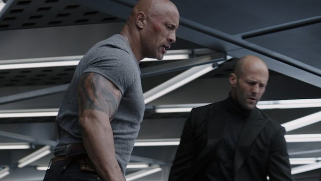 Dwayne Johnson Jason Statham In Hobbs Shaw