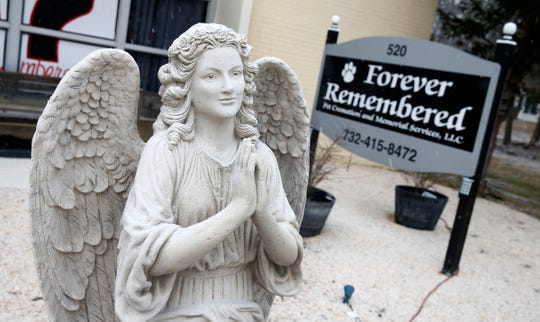 """Exterior of """"Forever Remembered Pet Cremation and Memorial Services"""" in  Jackson Township Friday afternoon, February 1, 2019.  The business provides pet removal and honorable pet cremations, funeral and memorial services, and grief counseling following the loss of a pet."""