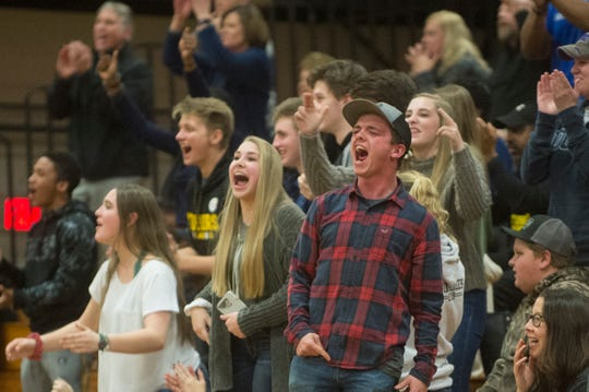 Tuscola came back in the final quarter to defeat Asheville 68-66 Feb. 1, 2019.