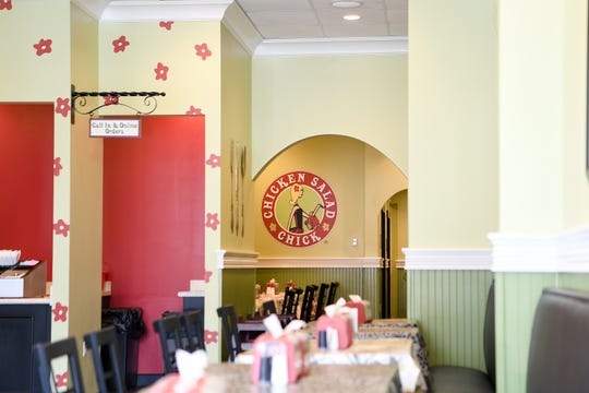 Chicken Salad Chick is open Monday through Saturday from 10:30 am to 7 pm serving a recipe of chicken salad for every taste.