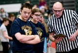 Samantha Gillette of Harpursville High School explains why VEX robot competitions are fun.