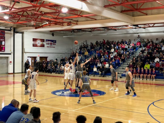 And a good one between Maine-Endwell and Owego is under way.