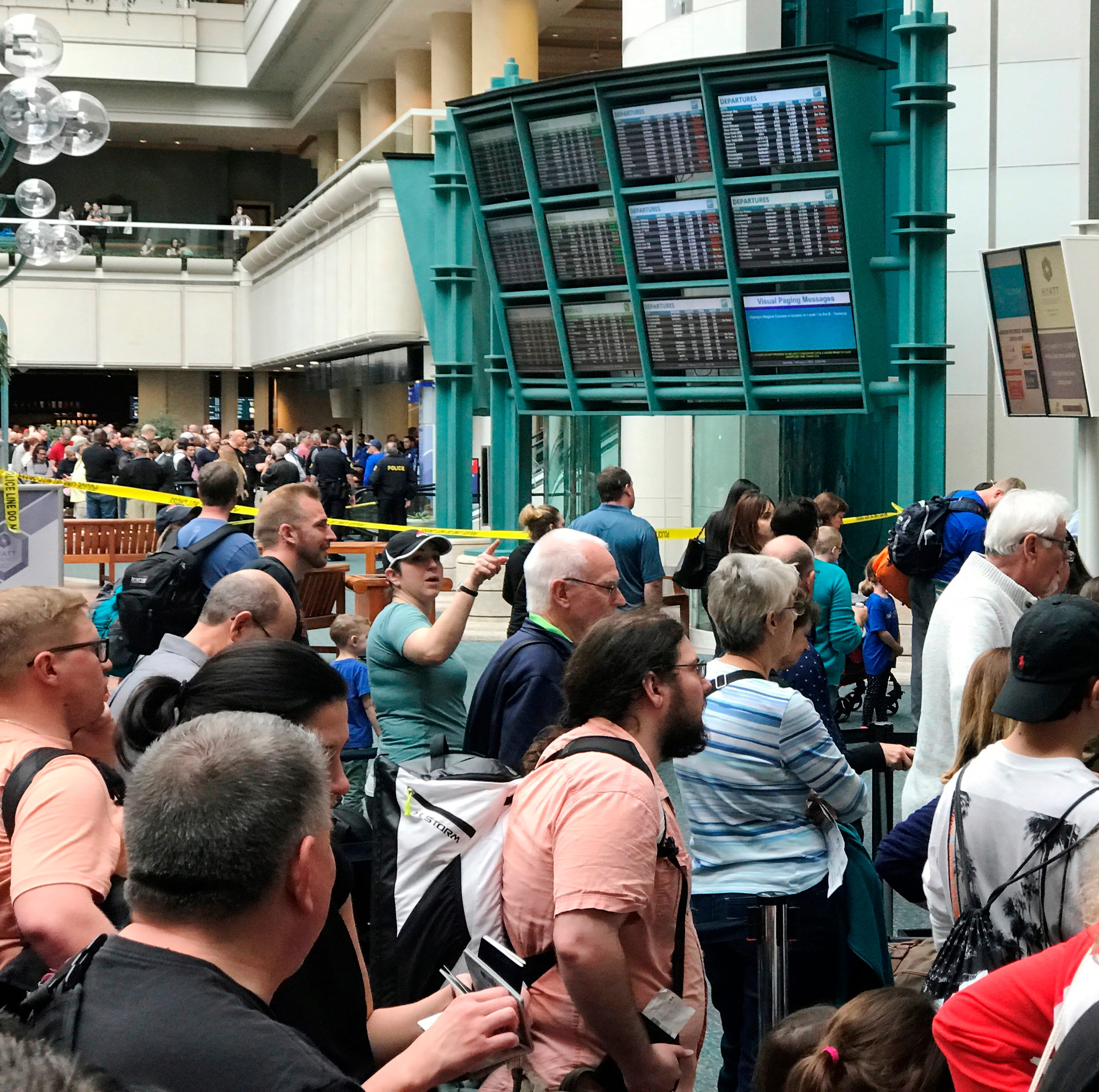 Orlando International Airport: Attempted security breach causes 'chaos'