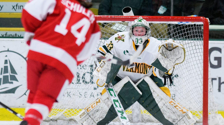 948410619765a UVM hockey  Vermont women take on top-seeded Northeastern in playoffs