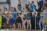 Highlights from the first day of the Class 5A UIL State Swimming and Diving Championships.