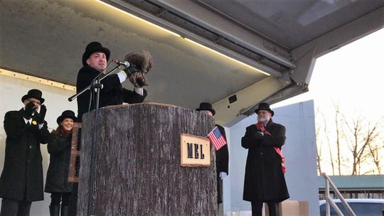 Milltown Mel predicted six more weeks of winter on Groundhog Day 2019.