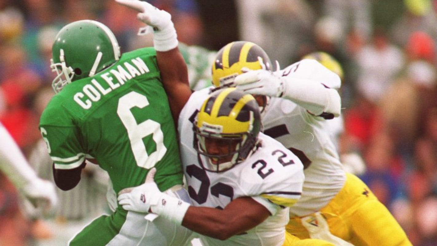 reputable site 974e6 bb5e6 Ex-Michigan DB Ty Law to enter Pro Football Hall of Fame