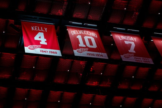 Red Wings Retire Red Kelly S Jersey It S A Great Honor