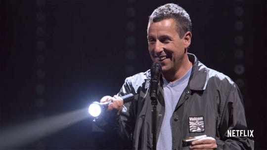 "Adam Sandler's ""100% Fresh"" special debuted on Netflix last fall."
