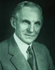 Henry Ford portrait in 1947.