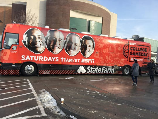 Michigan State is the subject of the latest installment of College GameDay, which was a surprise given the multiple Top 25 match-ups around the nation on Saturday and the excitement pulsed through the air.