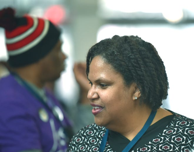Michigan Democratic Party Chair Lavora Barnes is attending the Miami debates of the Democratic presidential hopefuls to learn lessons that could be applied to the July 30-31 debates in Detroit.