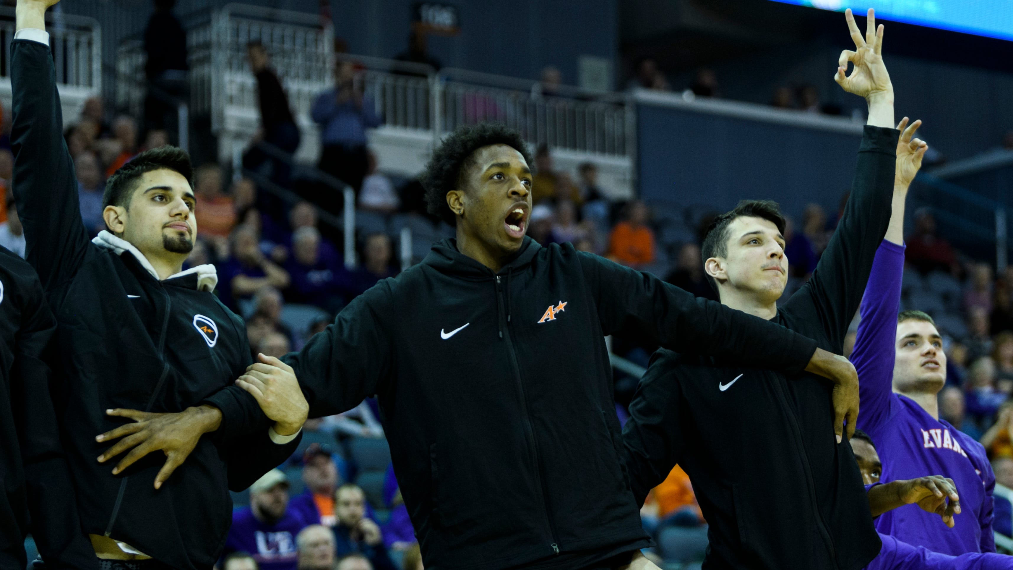 Five UE basketball players with high expectations...