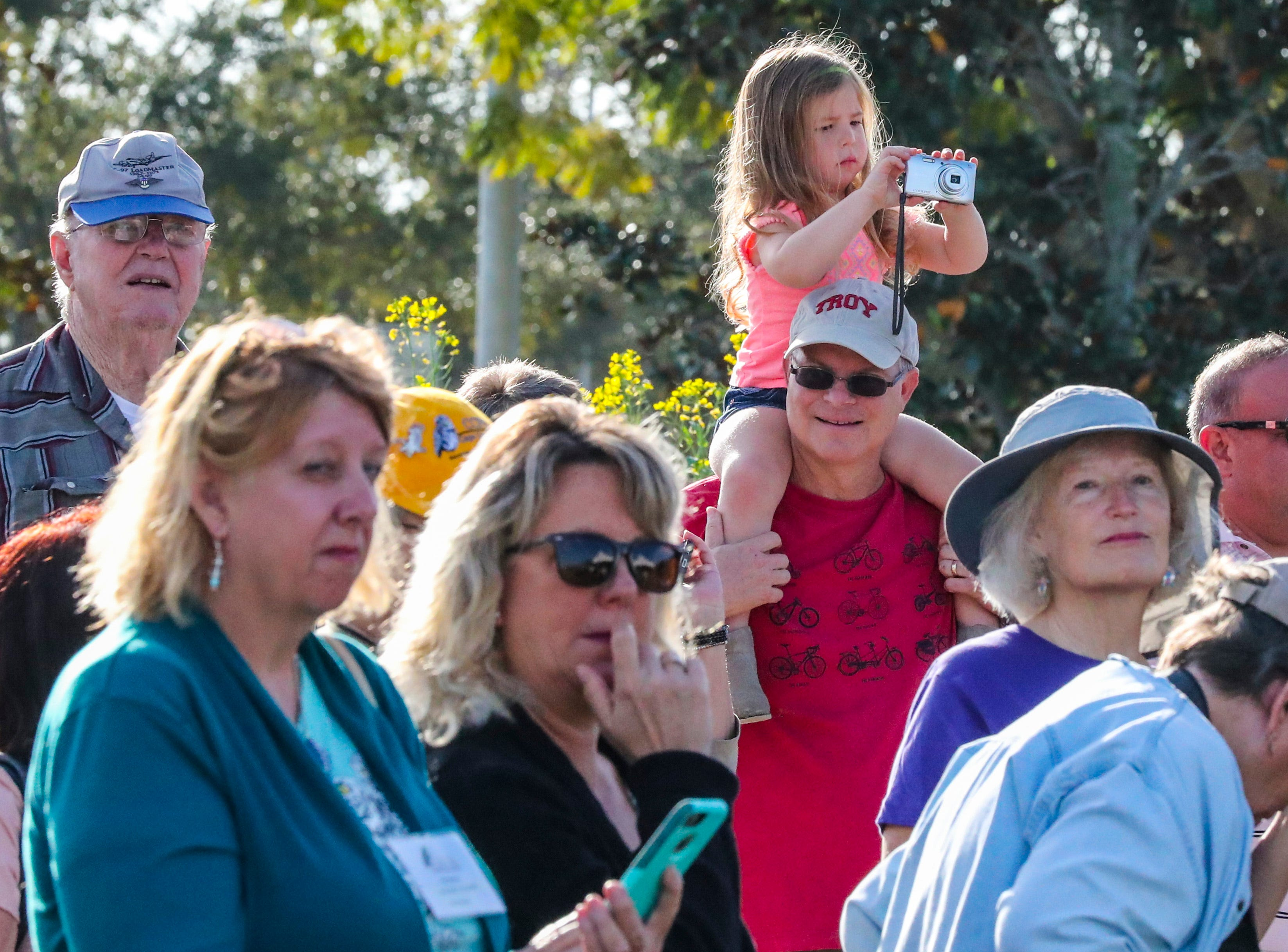"""Cape Coral's inaugural """"Ground-Owl Day"""" ceremony was Saturday, February 2, 2019. The event was hosted by CCFW and Cape Coral Parks and Recreation at the Rotary Community Garden. The owl naming contest winners were announced as well as the Mayor read a  proclamation. Everyone hoped that the new mascot saw his shadow so six more weeks of """"winter weather"""" in Cape Coral could be enjoyed. The winning names for the pair of burrowing owls that live next to the City Hall are Owliver and Owlivia."""