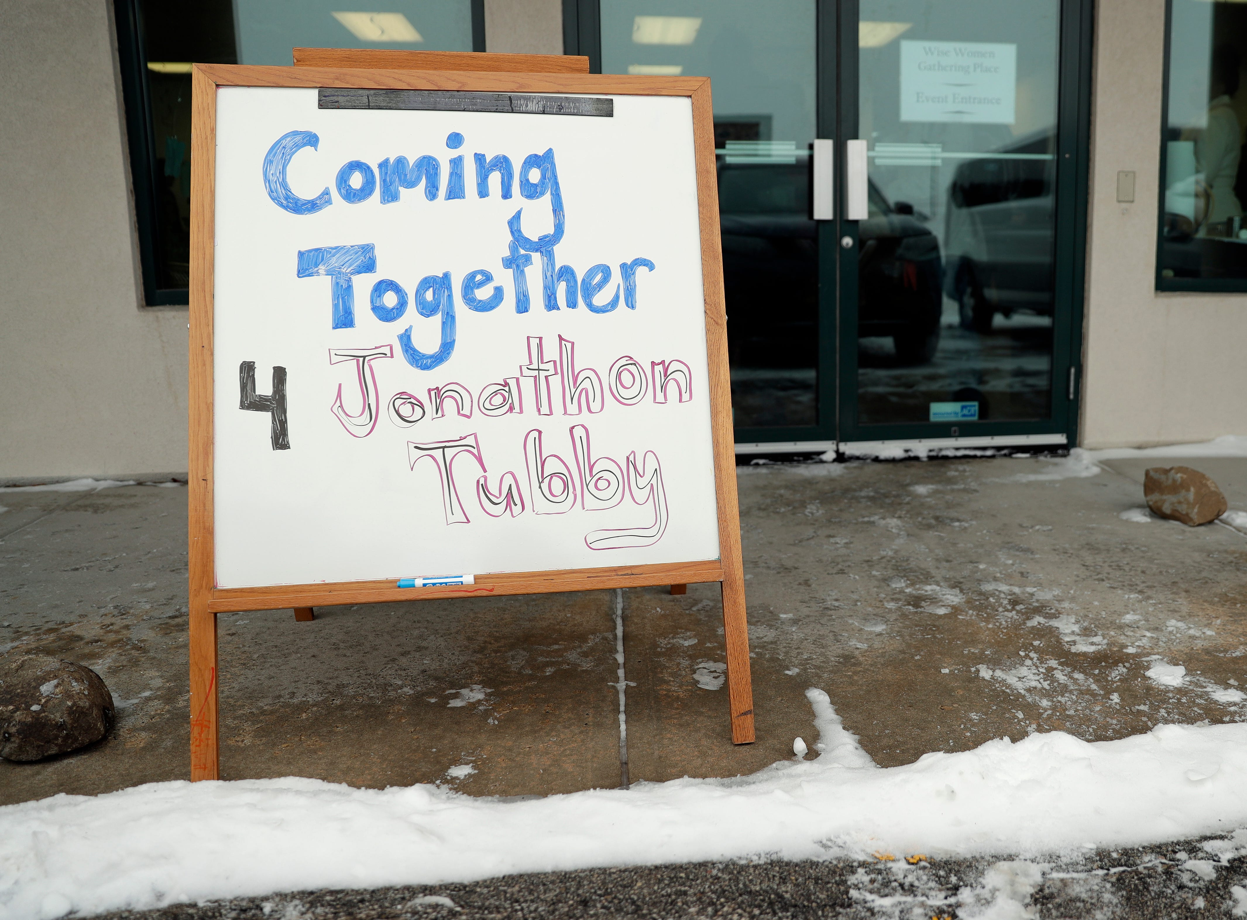 The family of Jonathon Tubby, who was killed by a Green Bay police officer in October 2018, hosted a community gathering to help with the grieving process after District Attorney David Lasee announced on Feb. 1, 2019, that the officer's actions were legal. Sarah Kloepping/USA TODAY NETWORK-Wisconsin