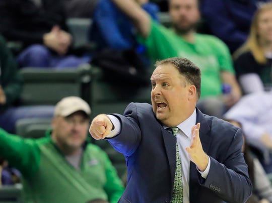 UWGB coach Linc Darner and his team have won six of their last eight games.