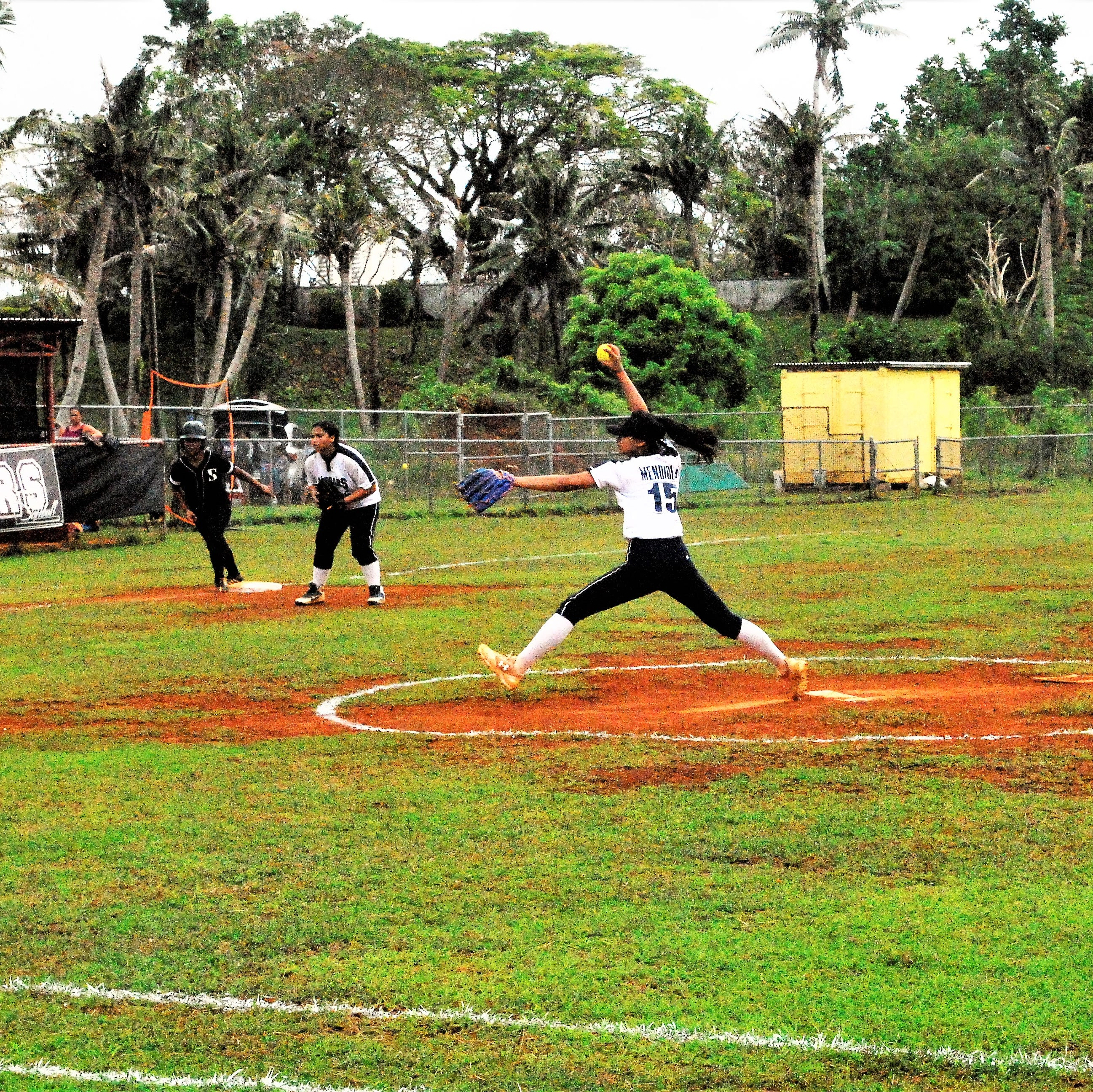 Academy of Our Lady of Guam Cougars top seed in IIAAG softball playoffs