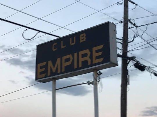 Club Empire was shut down by law enforcement Friday.
