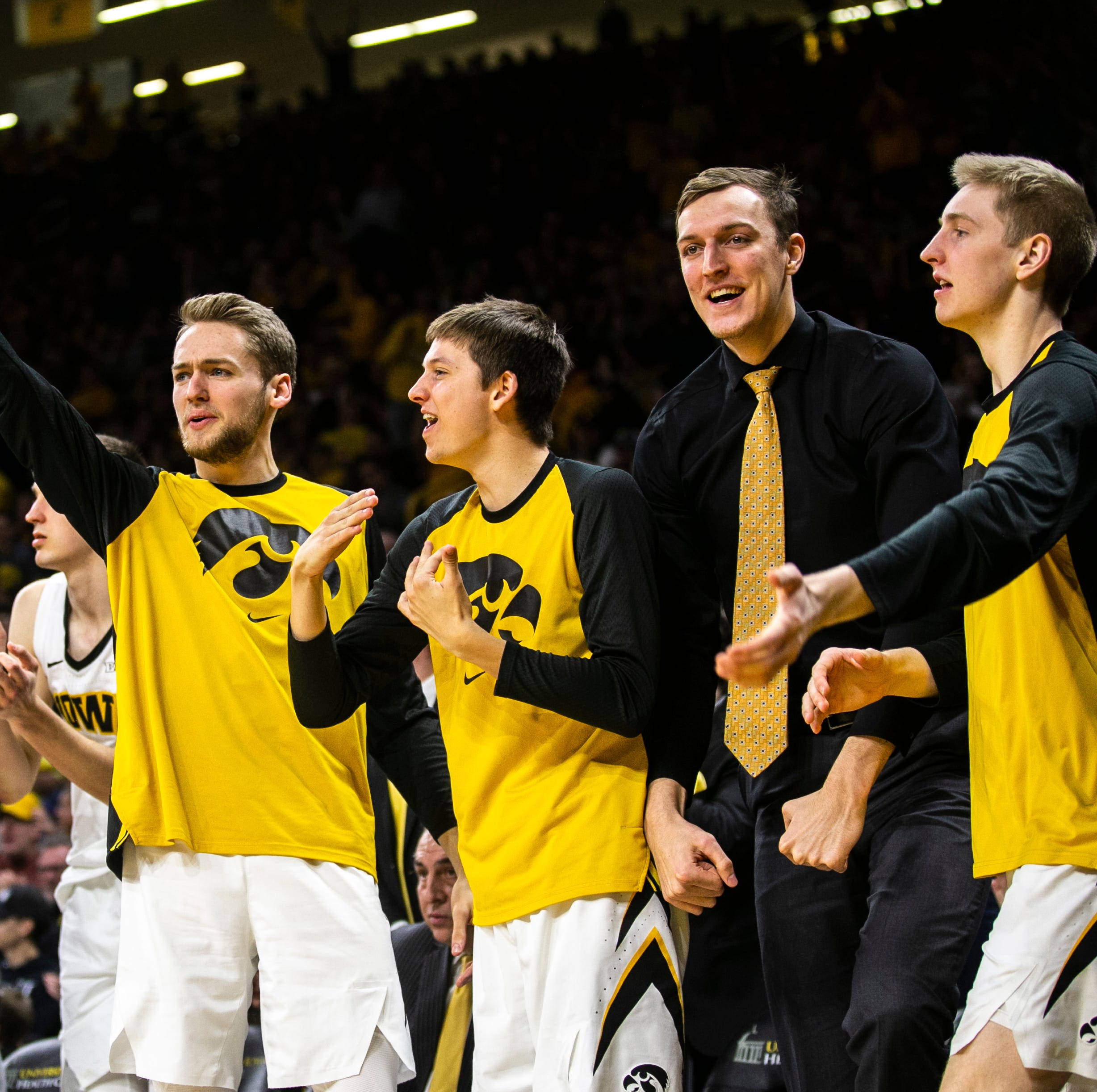 Iowa's Nunge packs on weight while sitting out, eager for bigger impact in final 3 seasons