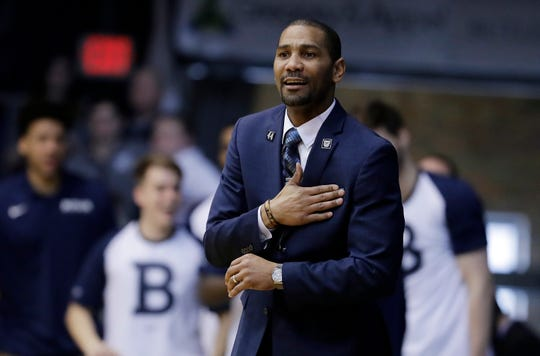 "Butler coach LaVall Jordan is glad his players have had a week off, but he notes they don't always make the best use of downtime: ""There's a lot more distractions now."""