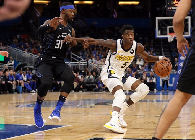 Without Victor Oladipo, players like Edmond Sumner (5) will get more playing time.