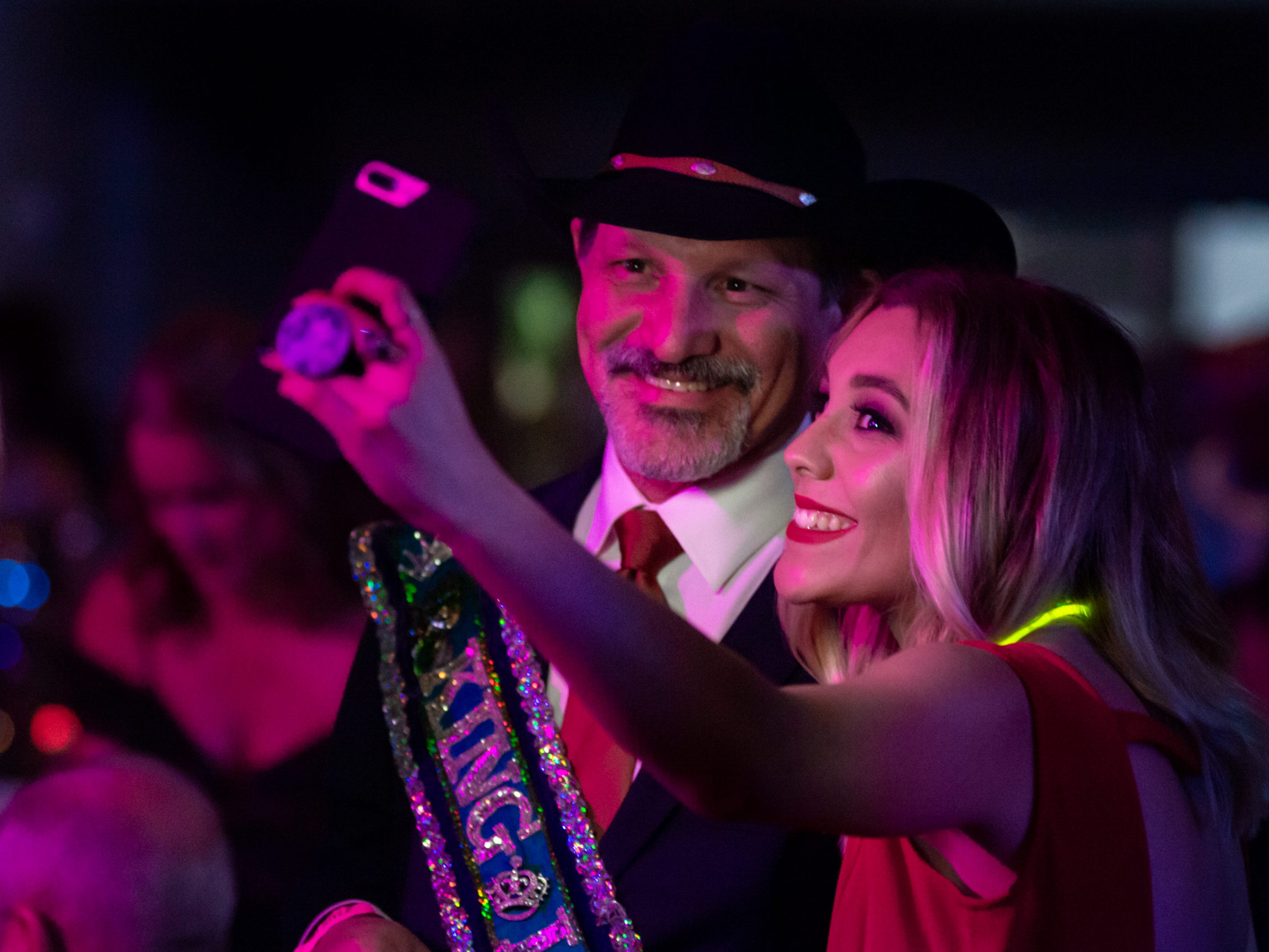 Krewe de Wideload Mardi Gras Ball at the Cajundome Convention Center. Friday, Feb. 1, 2019.