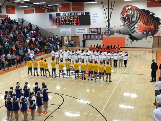 A moment of silence was held before Friday night's Mansfield Senior vs. Wooster basketball game for Al Ward. The Hall of Fame track and wrestling official, former Mehock Relays director, first commissioner of the Ohio Heartland Conference and first head football coach at Malabar High School passed away last week.
