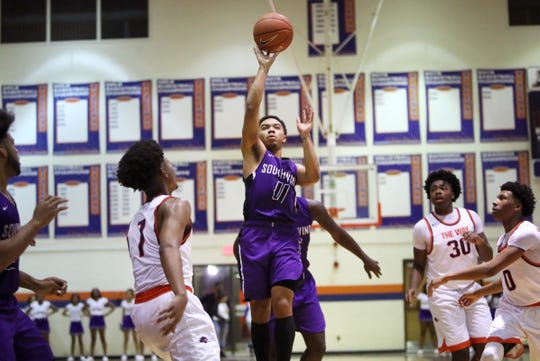 Southwind's Ashton Smith has quickly assumed a leadership role on the team after joining it in mid-December.
