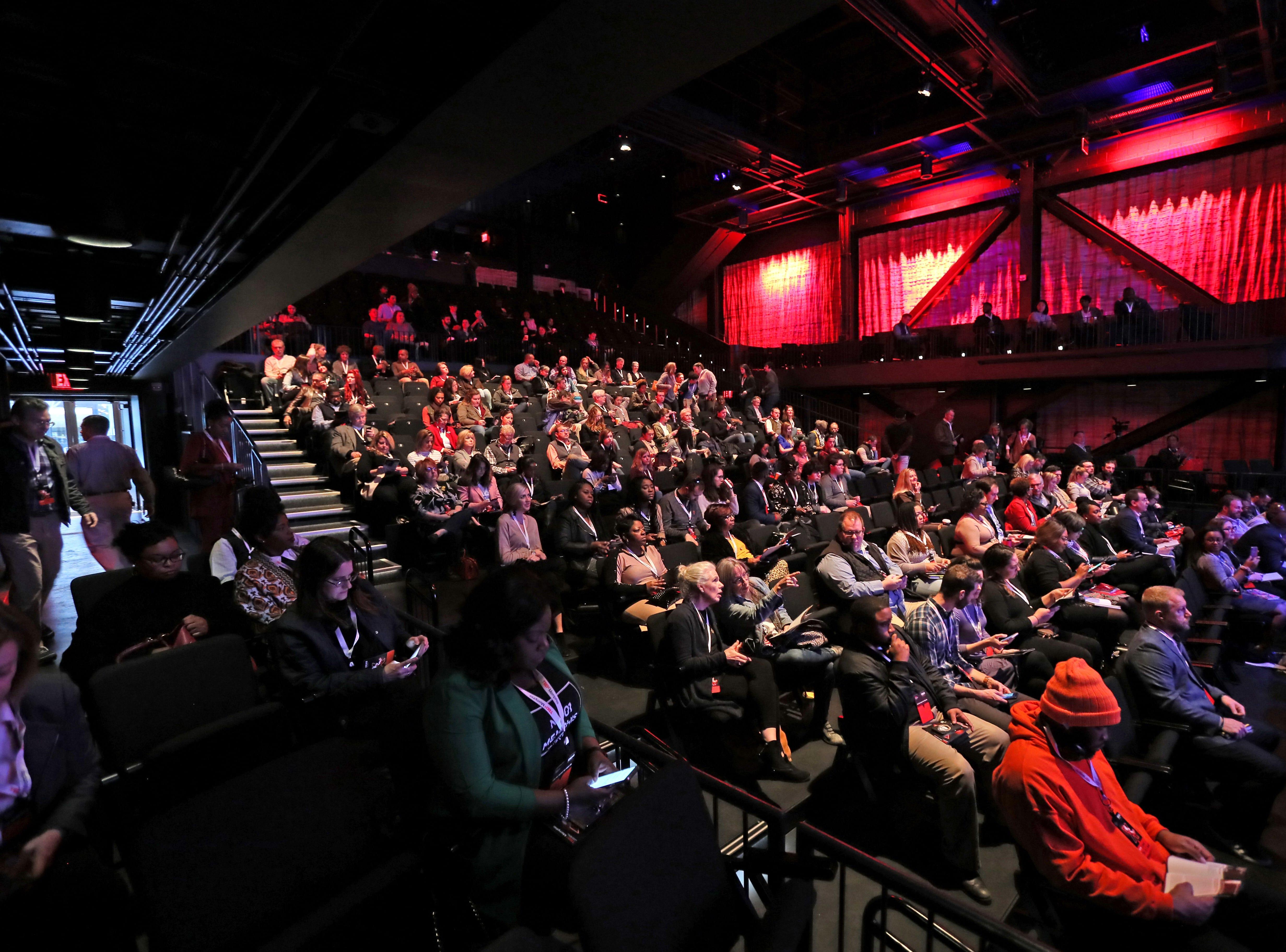 TEDx Memphis event at the Crosstown Arts Theatre Saturday, Feb. 2, 2019.