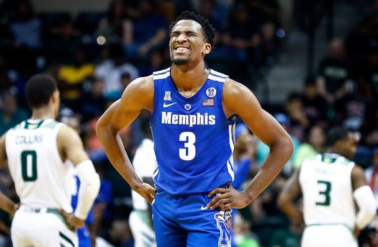 """""""Everything I've askedof him, he's done, and I'm really proud of his success,"""" Memphis coach Penny Hardaway says of senior Jeremiah Martin."""