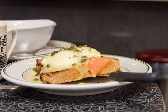Smoked-salmon Benedict is one of the Kenosha Restaurant Week specials at breakfast-and-lunch spot The Coffee Pot, 4914 Seventh Ave. in Kenosha. The event expands beyond Kenosha city limits this year, with 40 restaurants participating.