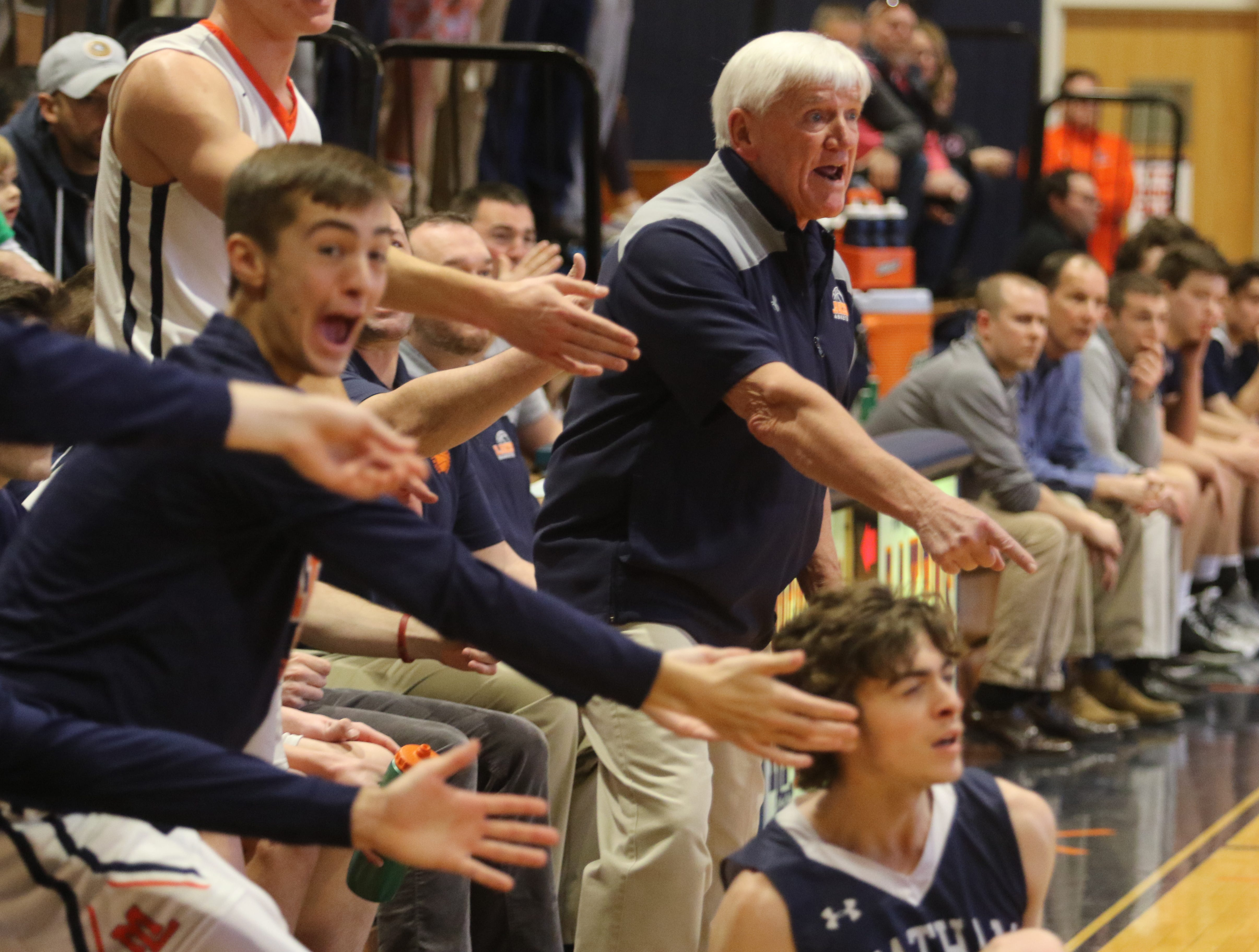 Mt. Lakes head coach John ByDook as he goes for his 500th career win.