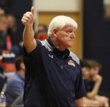 Mountain Lakes coach John ByDook gets his 500th career win in a Morris County Tournament boys basketball game
