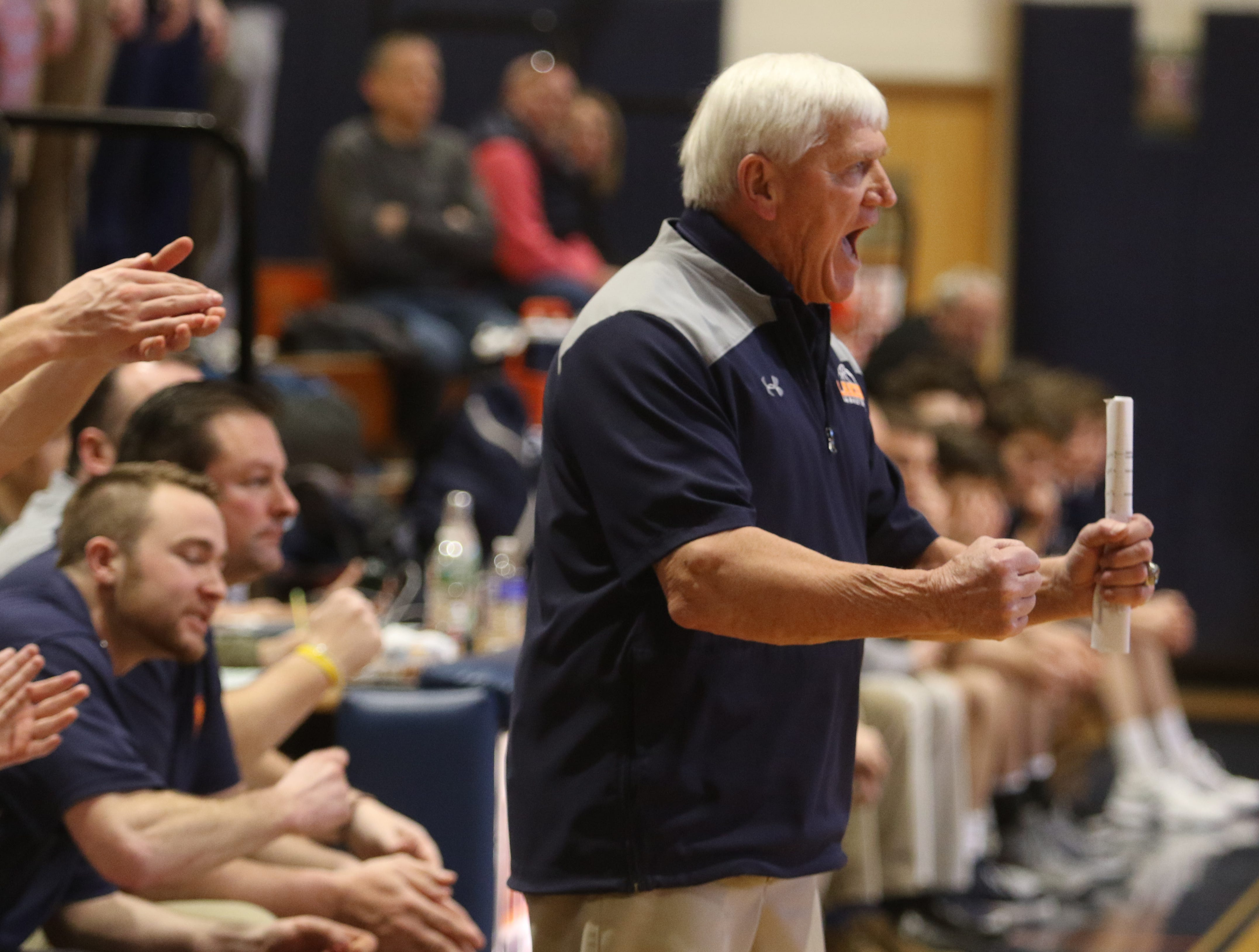Mountain Lakes head coach John ByDook as he goes for his 500th career win.
